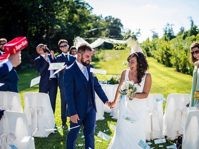 Il matrimonio di Mattia e Luana a Viverone, Biella 30