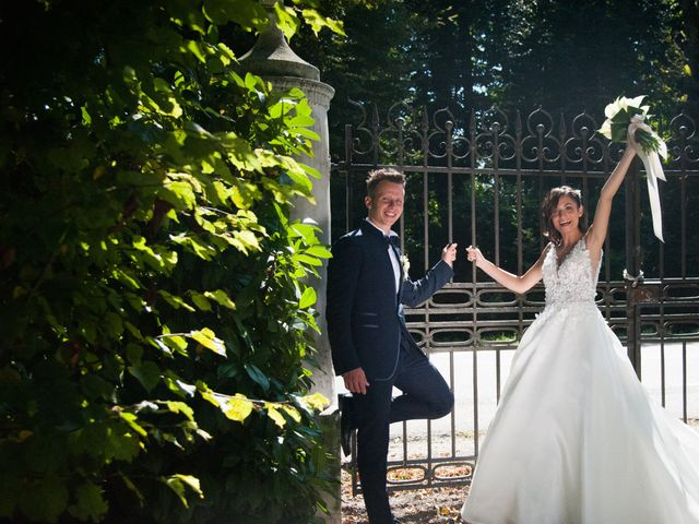 Le nozze di Jennifer e Andrea