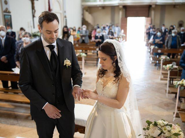 Il matrimonio di Alessio e Marta a Rovolon, Padova 45
