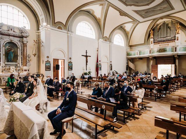 Il matrimonio di Alessio e Marta a Rovolon, Padova 46