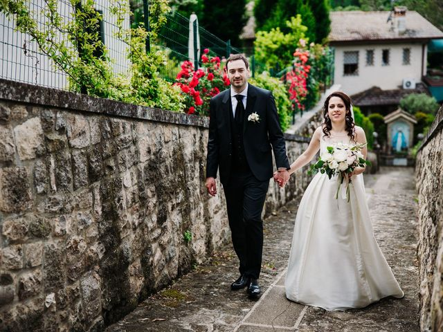 Il matrimonio di Alessio e Marta a Rovolon, Padova 55