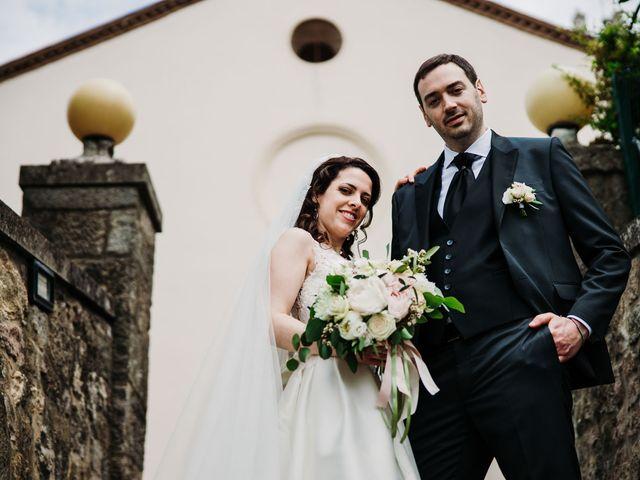 Il matrimonio di Alessio e Marta a Rovolon, Padova 56