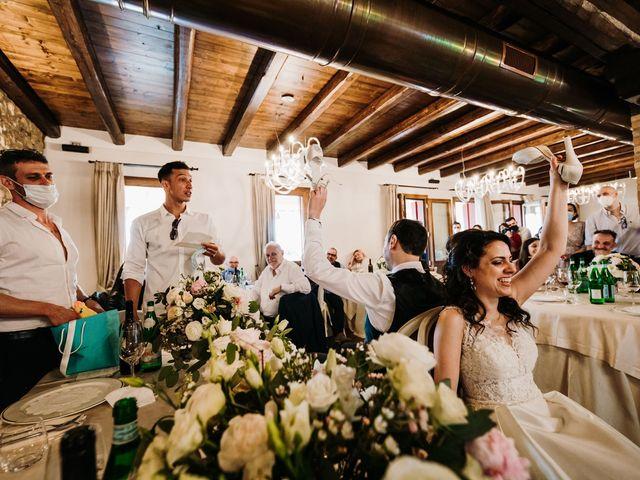Il matrimonio di Alessio e Marta a Rovolon, Padova 84