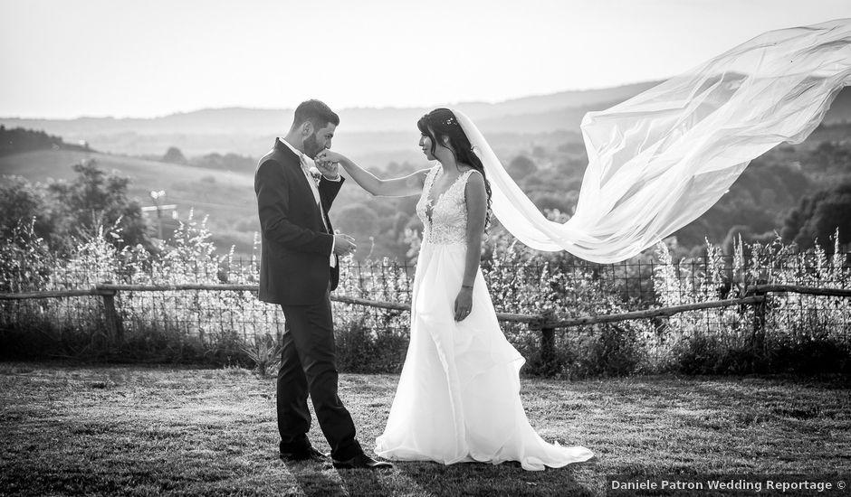 Il matrimonio di Valerio e Ilaria a Bassano Romano, Viterbo