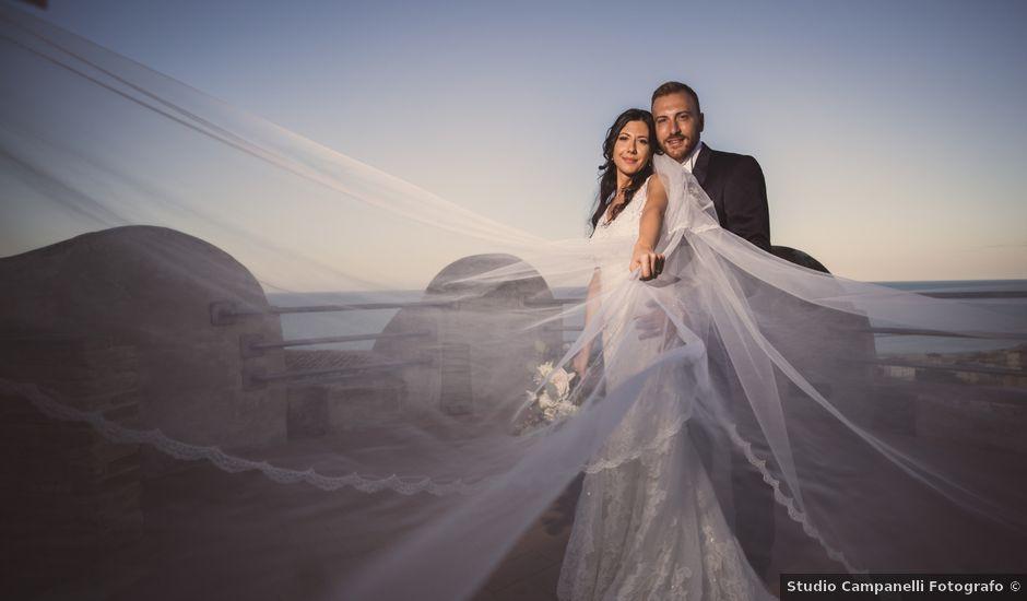 Il matrimonio di Edoardo e Angelica a Grottammare, Ascoli Piceno