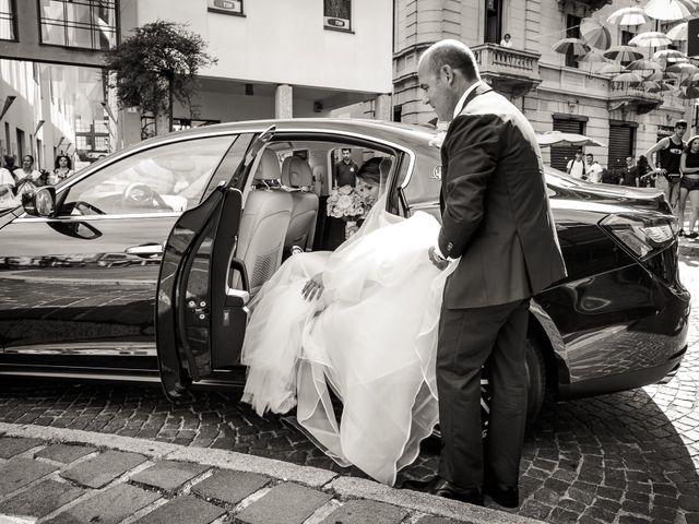 Il matrimonio di Mattia e Martina a Angera, Varese 8
