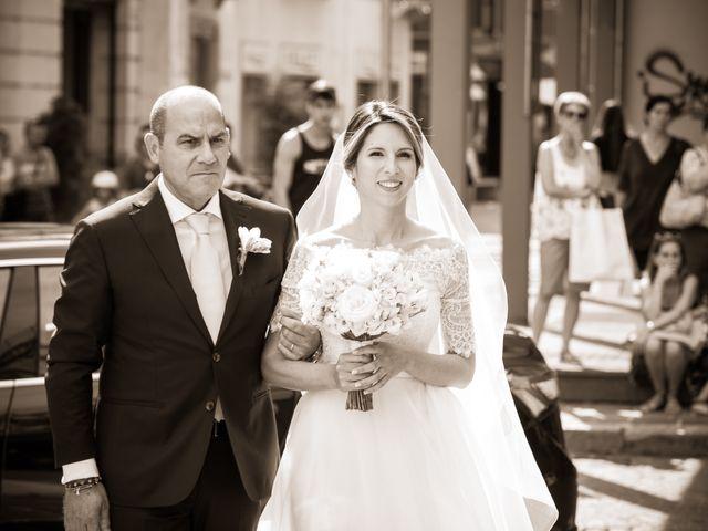 Il matrimonio di Mattia e Martina a Angera, Varese 9