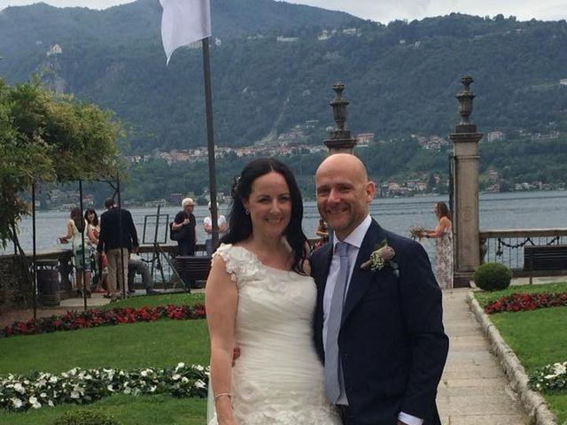 Il matrimonio di James e Sinead a Orta San Giulio, Novara 3
