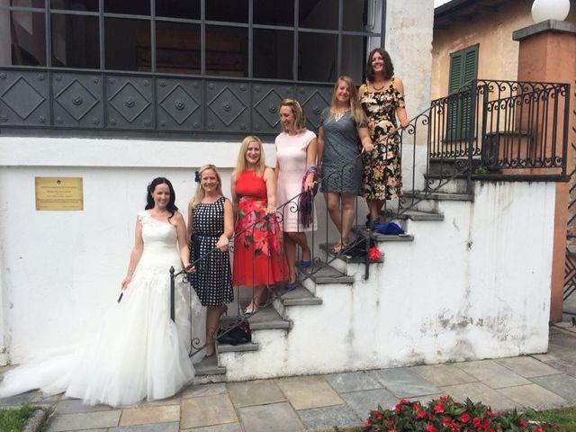 Il matrimonio di James e Sinead a Orta San Giulio, Novara 4