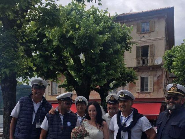 Il matrimonio di James e Sinead a Orta San Giulio, Novara 11
