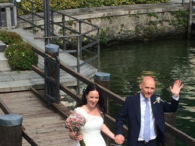 Il matrimonio di James e Sinead a Orta San Giulio, Novara 15