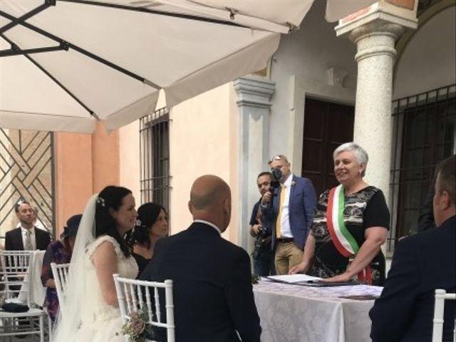 Il matrimonio di James e Sinead a Orta San Giulio, Novara 17