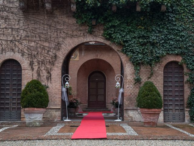 Il matrimonio di Davide e Francine a Cervesina, Pavia 3