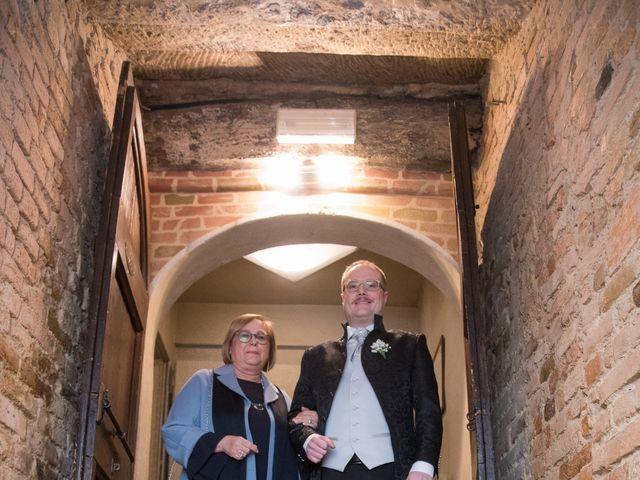 Il matrimonio di Davide e Francine a Cervesina, Pavia 11