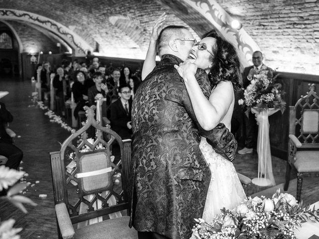 Il matrimonio di Davide e Francine a Cervesina, Pavia 15