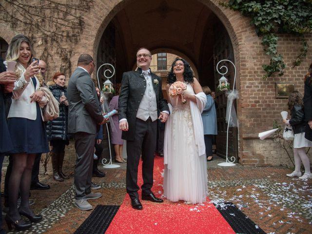Il matrimonio di Davide e Francine a Cervesina, Pavia 16