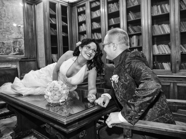 Il matrimonio di Davide e Francine a Cervesina, Pavia 17