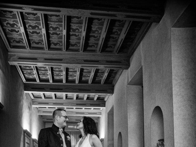 Il matrimonio di Davide e Francine a Cervesina, Pavia 18