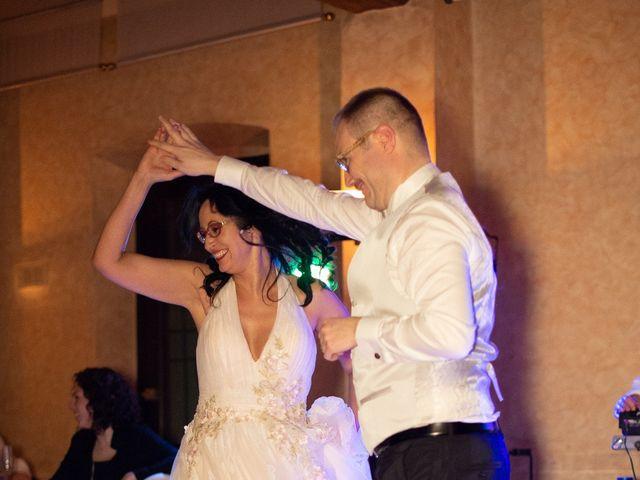 Il matrimonio di Davide e Francine a Cervesina, Pavia 25