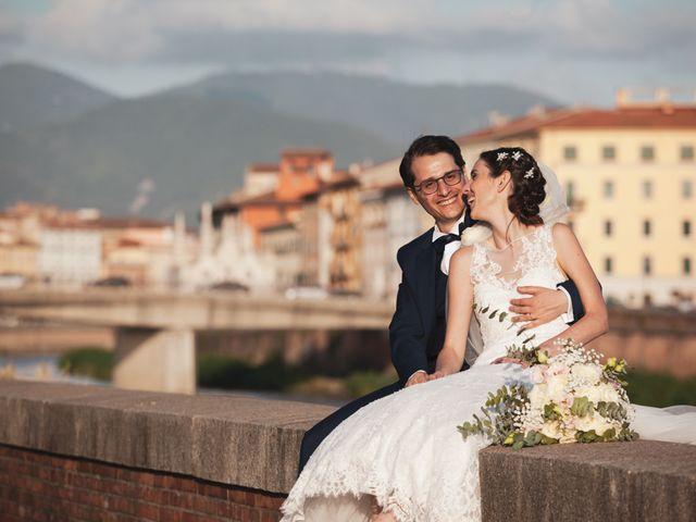 Il matrimonio di Luciano e Chiara a Pisa, Pisa 59