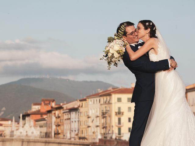 Il matrimonio di Luciano e Chiara a Pisa, Pisa 1