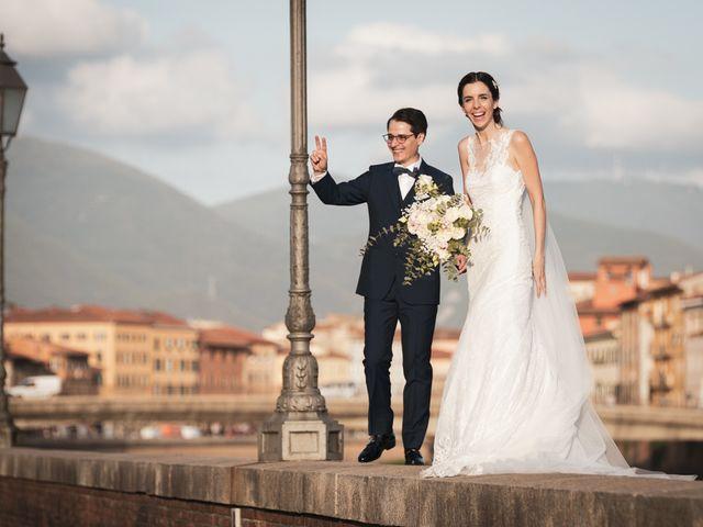 Il matrimonio di Luciano e Chiara a Pisa, Pisa 60