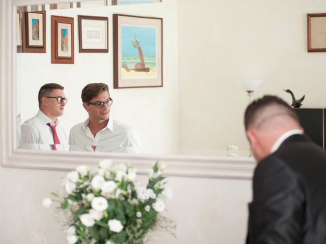 Il matrimonio di Sandro e Martina a Bracciano, Roma 17