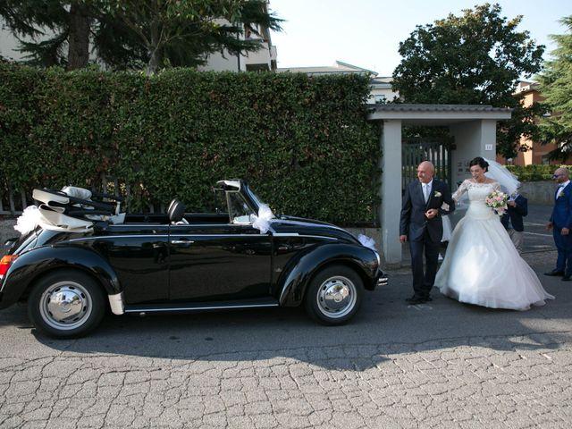 Il matrimonio di Sandro e Martina a Bracciano, Roma 39