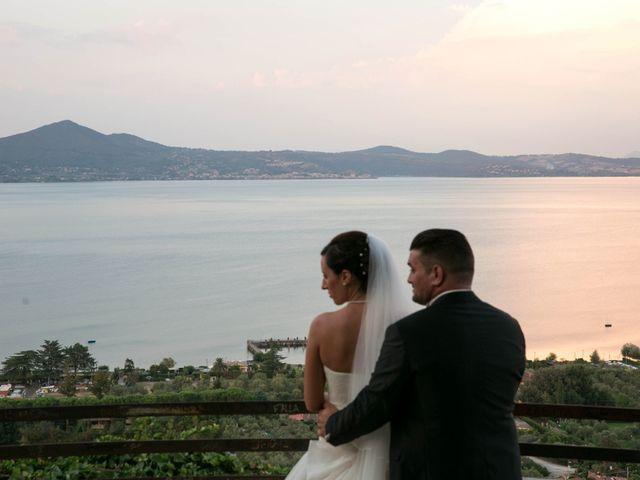 Il matrimonio di Sandro e Martina a Bracciano, Roma 78