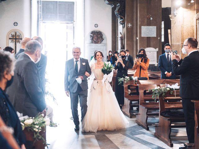 Il matrimonio di Matteo e Silvia a Frascati, Roma 27