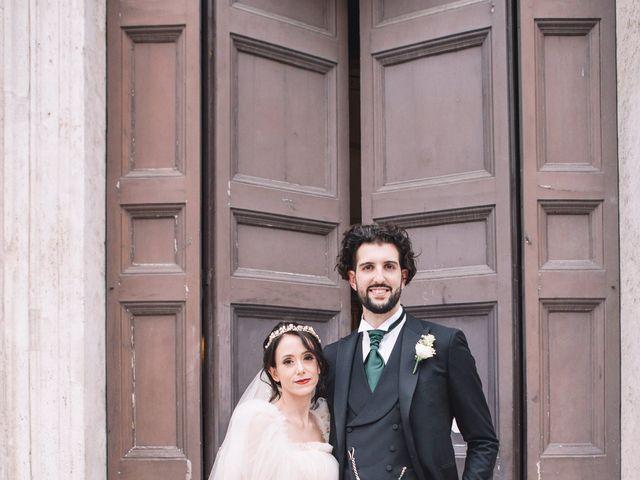 Il matrimonio di Matteo e Silvia a Frascati, Roma 45