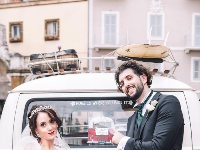 Il matrimonio di Matteo e Silvia a Frascati, Roma 54