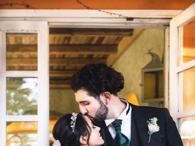 Il matrimonio di Matteo e Silvia a Frascati, Roma 62