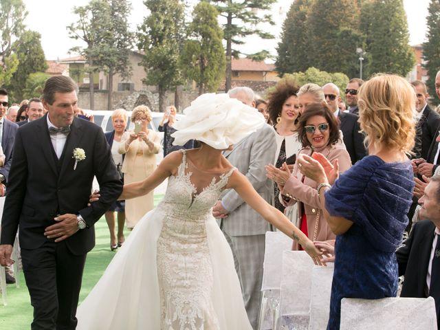Il matrimonio di Marco e Giuli a Rezzato, Brescia 11