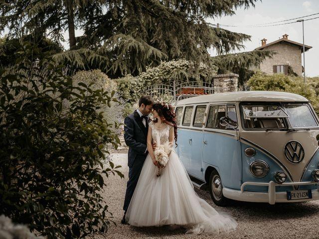 Il matrimonio di Crisitan e Gloria a Grumello del Monte, Bergamo 16