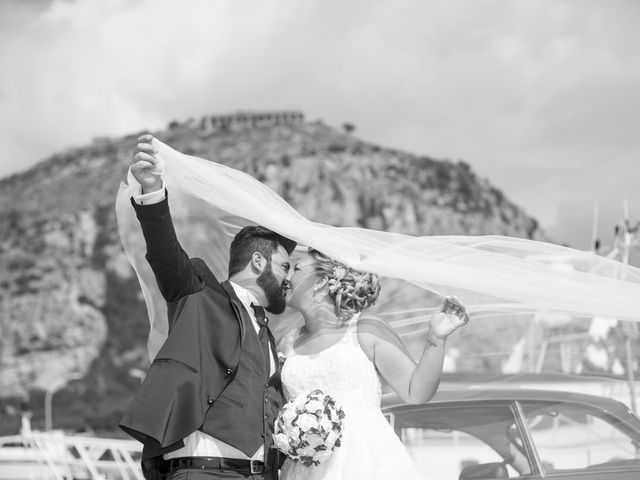 le nozze di Maura e Cristian