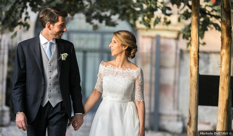 Il matrimonio di Mattia e Martina a Angera, Varese