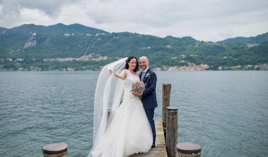 Il matrimonio di James e Sinead a Orta San Giulio, Novara