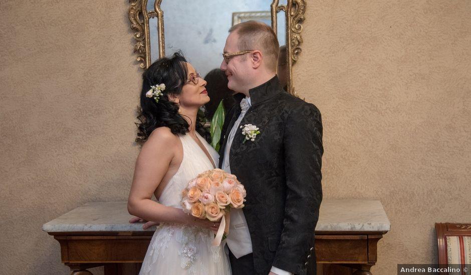 Il matrimonio di Davide e Francine a Cervesina, Pavia