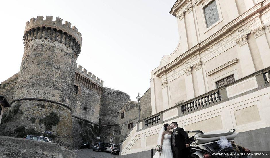Il matrimonio di Sandro e Martina a Bracciano, Roma