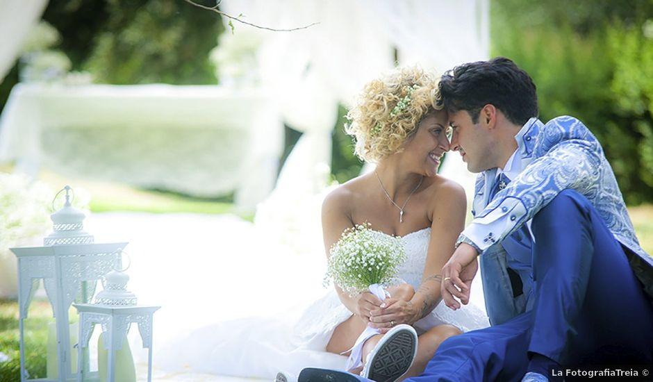 Il matrimonio di FEDERICO e LAURA a Montecosaro, Macerata