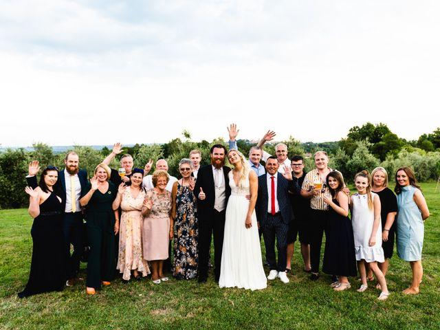 Il matrimonio di Giulio e Erika a Ragogna, Udine 406