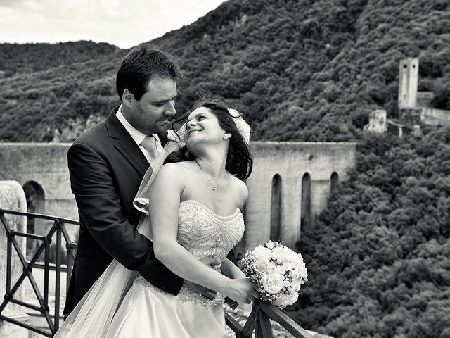 Il matrimonio di Simone e Rita a Spoleto, Perugia 9