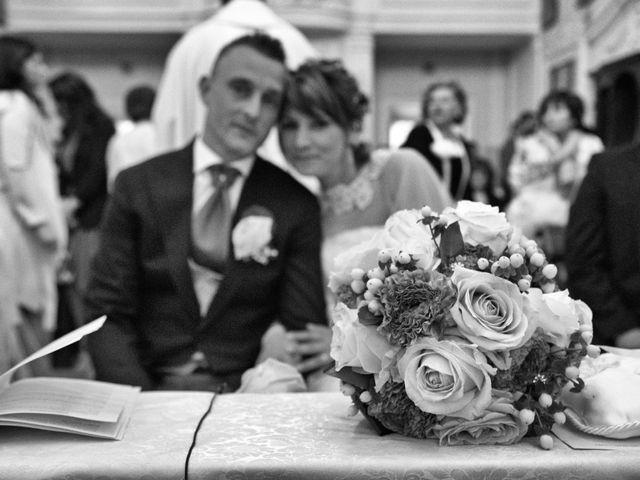 Il matrimonio di Dorica e Nico a Montevarchi, Arezzo 17