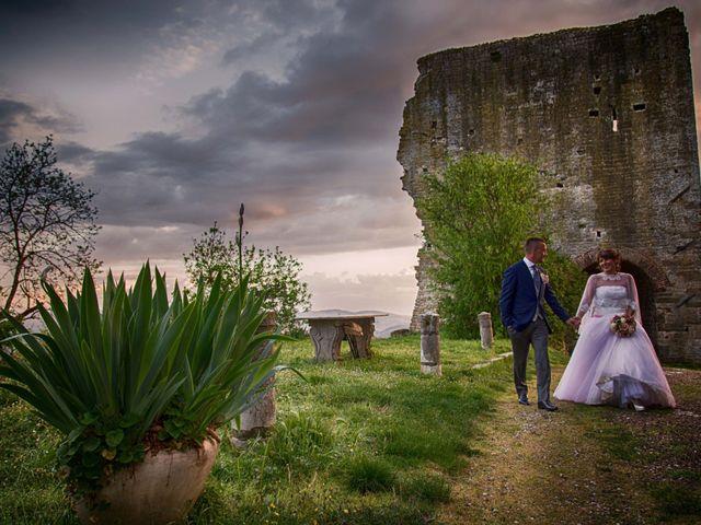 Il matrimonio di Dorica e Nico a Montevarchi, Arezzo 18