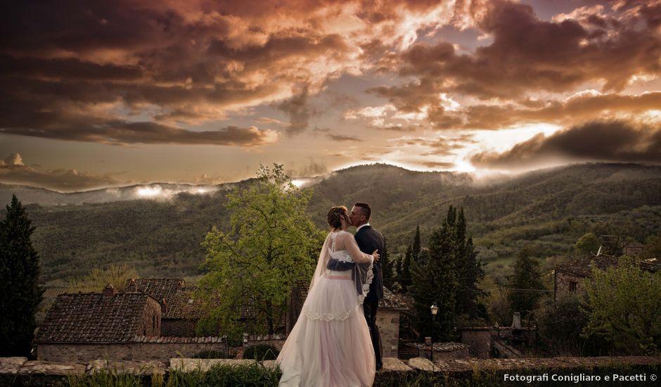 Il matrimonio di Dorica e Nico a Montevarchi, Arezzo