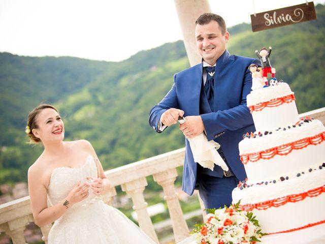Il matrimonio di Mattia e Silvia a Trescore Balneario, Bergamo 45