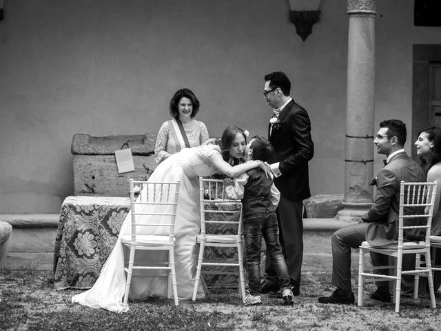 Il matrimonio di Gennaro e Giulia a Montevarchi, Arezzo 21