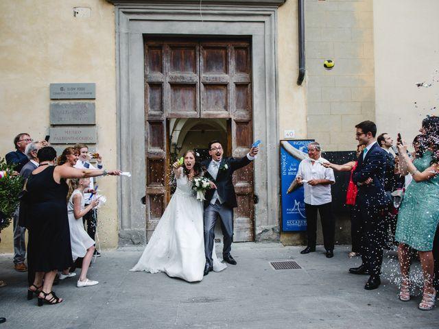 Il matrimonio di Gennaro e Giulia a Montevarchi, Arezzo 28