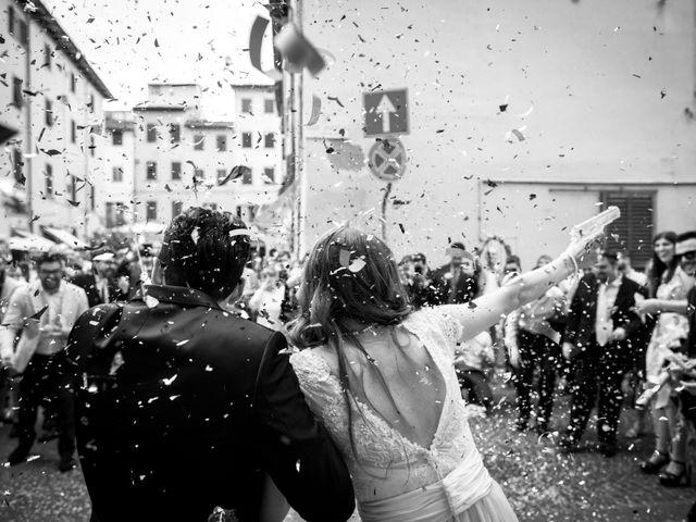 Il matrimonio di Gennaro e Giulia a Montevarchi, Arezzo 30